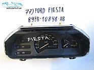 Панель приборов Ford Fiesta №77, 89FB10848AB