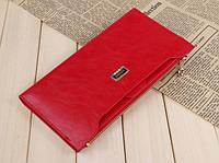Женский кошелек - клатч Красный. Жіночий гаманець Bogesi, фото 1