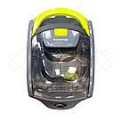 Пылесос вакуумный Blumberg DM-1507 3500 Вт контейнерный без мешка серо-салатовый (GS00DM-1507BGG), фото 3