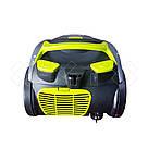 Пылесос вакуумный Blumberg DM-1507 3500 Вт контейнерный без мешка серо-салатовый (GS00DM-1507BGG), фото 5