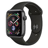 Смарт-часы Apple Watch Series 4 44mm GPS Space Gray Aluminum Case Black Sport Band MU6D2 (витринный образец)