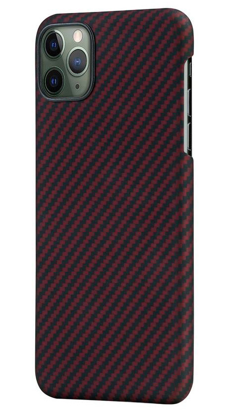 Pitaka MagEZ Case чехол для iPhone 11 Pro Black/Red