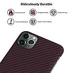 Pitaka MagEZ Case чехол для iPhone 11 Pro Black/Red, фото 2