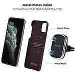 Pitaka MagEZ Case чехол для iPhone 11 Pro Black/Red, фото 4