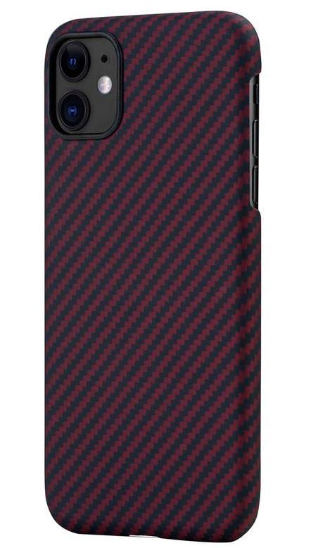 Pitaka MagEZ Case чехол для iPhone 11 Black/Red