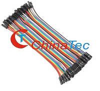 40х соединительные провода мамка цветные, фото 1