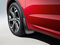 Брызговики на для Jaguar E-Pace 2017-, передние кт 2шт Ягуар Е-Пейс