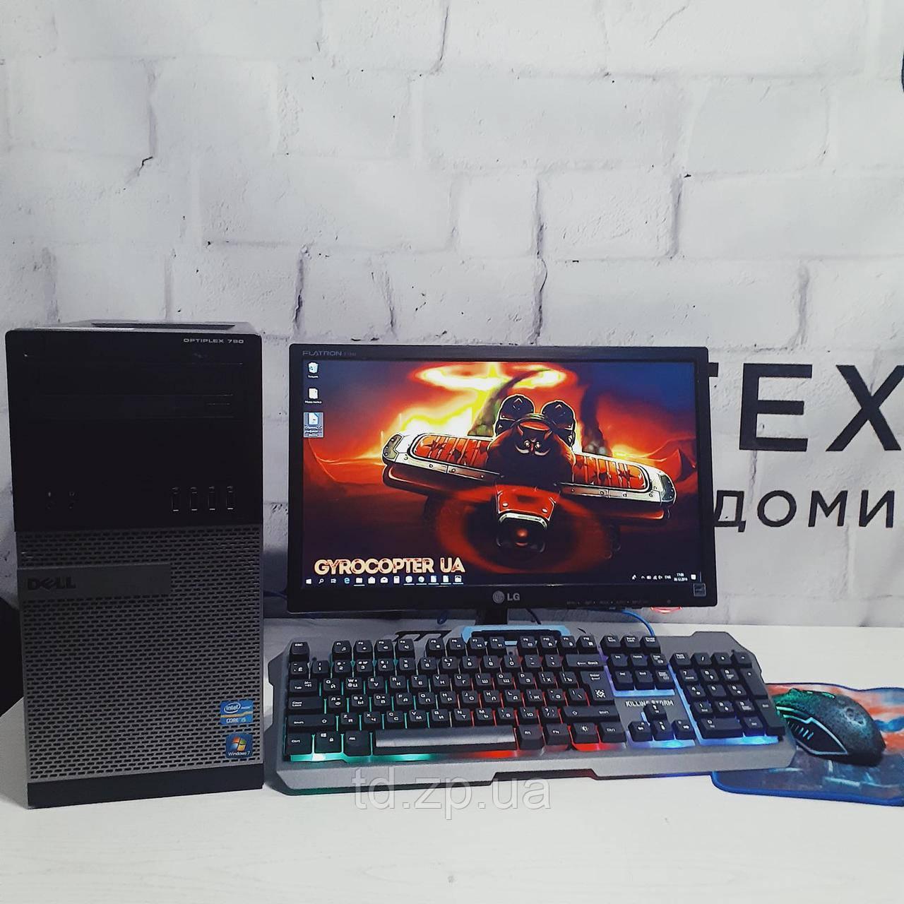 Игровой компьютер Intel core i3-3220 + NVIDIA GeForce GTX 750ti  2Gb + RAM 4Gb + HDD 320Gb