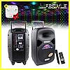 Музыкальная колонка чемодан А85 с пультом и микрофоном + Подарунок! Наушники