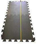 Килимок-пазл, татамі ластівчин хвіст, т. 50 мм пінополіетилен, 100х100 см, щільність 33 кг/м3, TERMOIZOL®, фото 2