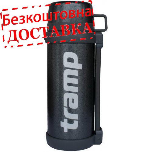 Термос Tramp  1.2 л. з широким горлом TRC-095-GREY