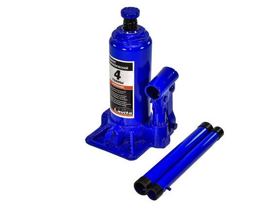 Домкрат гидравлический бутылочного типа 4т. 180-350мм Lavita LA JNS-04, фото 2