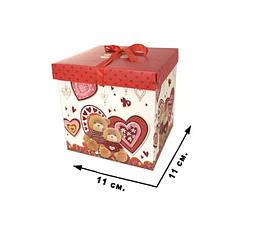 Коробка подарункова CEL-142-1S, в пак.11*11 см