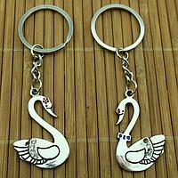 Парнібрелоки для закоханих Лебеді /Парные брелки для влюбленных - Лебеди