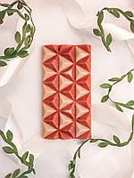 Шоколад натуральний БІЛО - ВИШНЕВИЙ ручної роботи