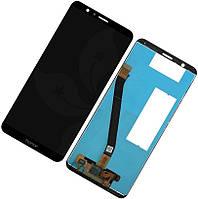 Дисплей Honor 7X Dual Sim черный | LCD экран, тачскрин, стекло | Модуль в сборе