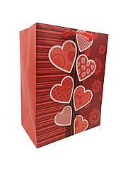 """Подарунковий пакет 212S-2 """"LOVE"""", р-р 18*23*10см,"""