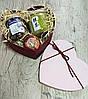 Чайний набір: Рожеве серце (БЕЗКОШТОВНА ДОСТАВКА НОВОЮ ПОШТОЮ!)
