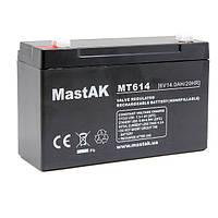 Аккумулятор 6V 14Ah Mastak (MT6140  / 3FM14)