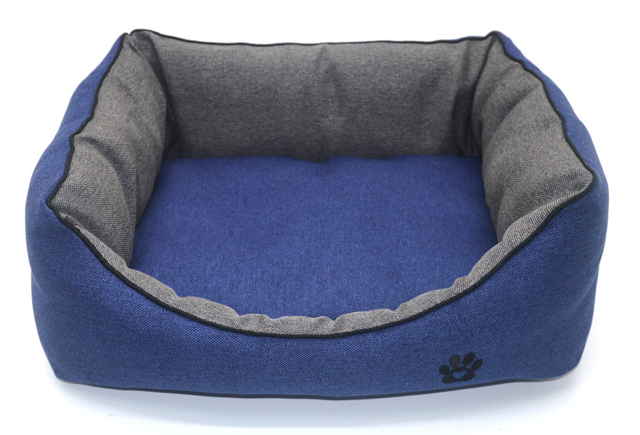 Лежак для собак и котов Loft №5 70х100х24 см синий