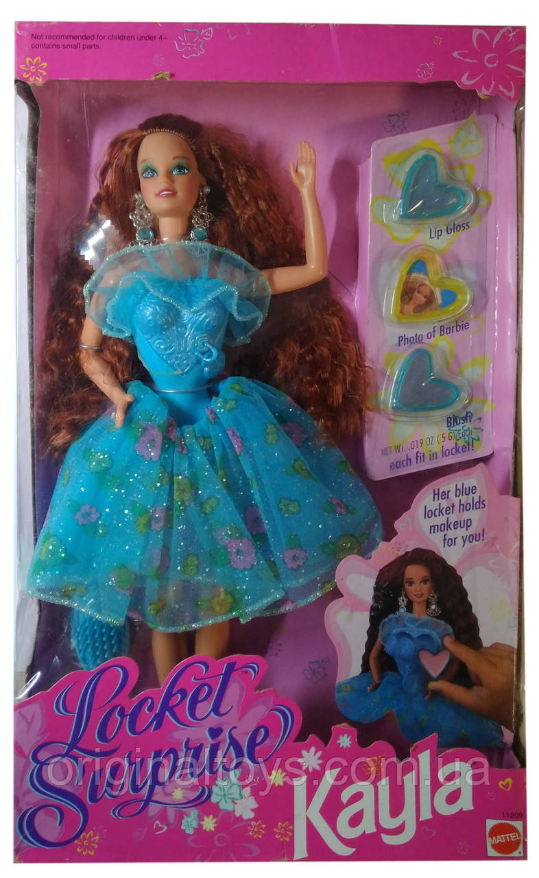 Коллекционная кукла Барби Кайла Медальон сюрприз Barbie Kayla Locket Surprise 1993 Mattel 11209
