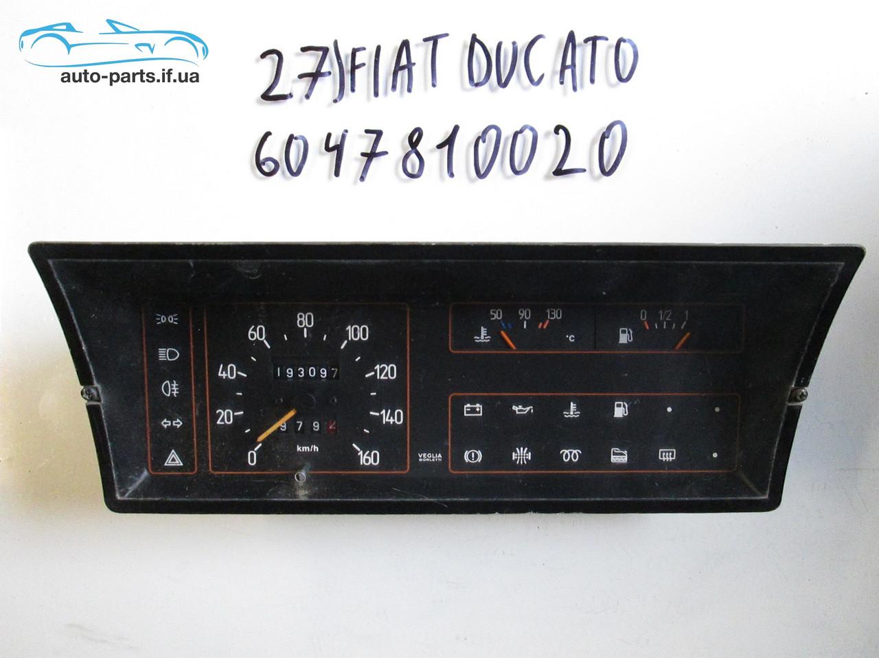 Панель приборов Fiat Ducato №27, 6047810020