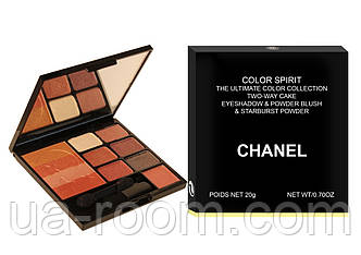 Тени для век и румяна Chanel Color Spirit, фото 2