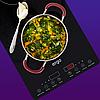 Настольная индукционная плита ERGO IHP-2607 Black — Двухконфорочная индукционная плита, фото 2