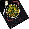Настольная индукционная плита ERGO IHP-2607 Black — Двухконфорочная индукционная плита, фото 4
