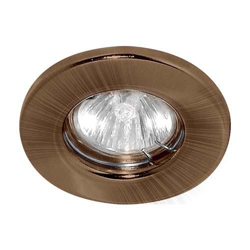 Встраиваемый светильник Feron DL10 античная медь