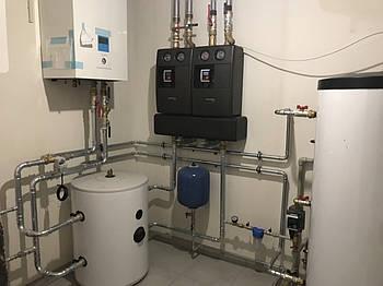 Монтаж  кондиционирования,систем вентиляции, тепловых насосов и отопления