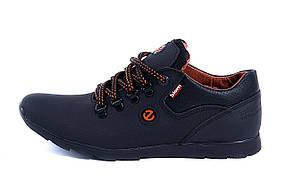 Мужские кожаные кроссовки  Е-series biom (реплика)