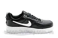 Подростковые кроссовки в стиле Nike Air Force 1 '07 Lv8 Utility, Black\White, фото 3