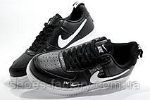 Подростковые кроссовки в стиле Nike Air Force 1 '07 Lv8 Utility, Black\White, фото 2
