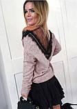 """Женская кофта большого размера """"Галатея"""" В И, фото 5"""
