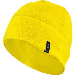 Флисовая шапка JAKO (желтая)