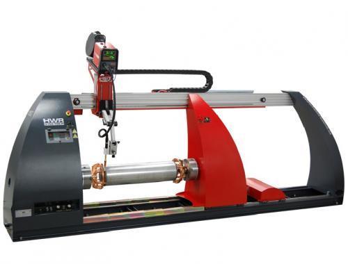 Автоматическая установка для сварки и наплавки кольцевых и продольных швов HWR LEADER 2502.078.H HST creative