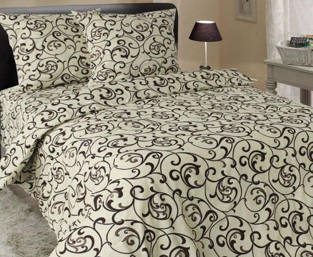 изображение постельное белье двуспальный размер с вензелями