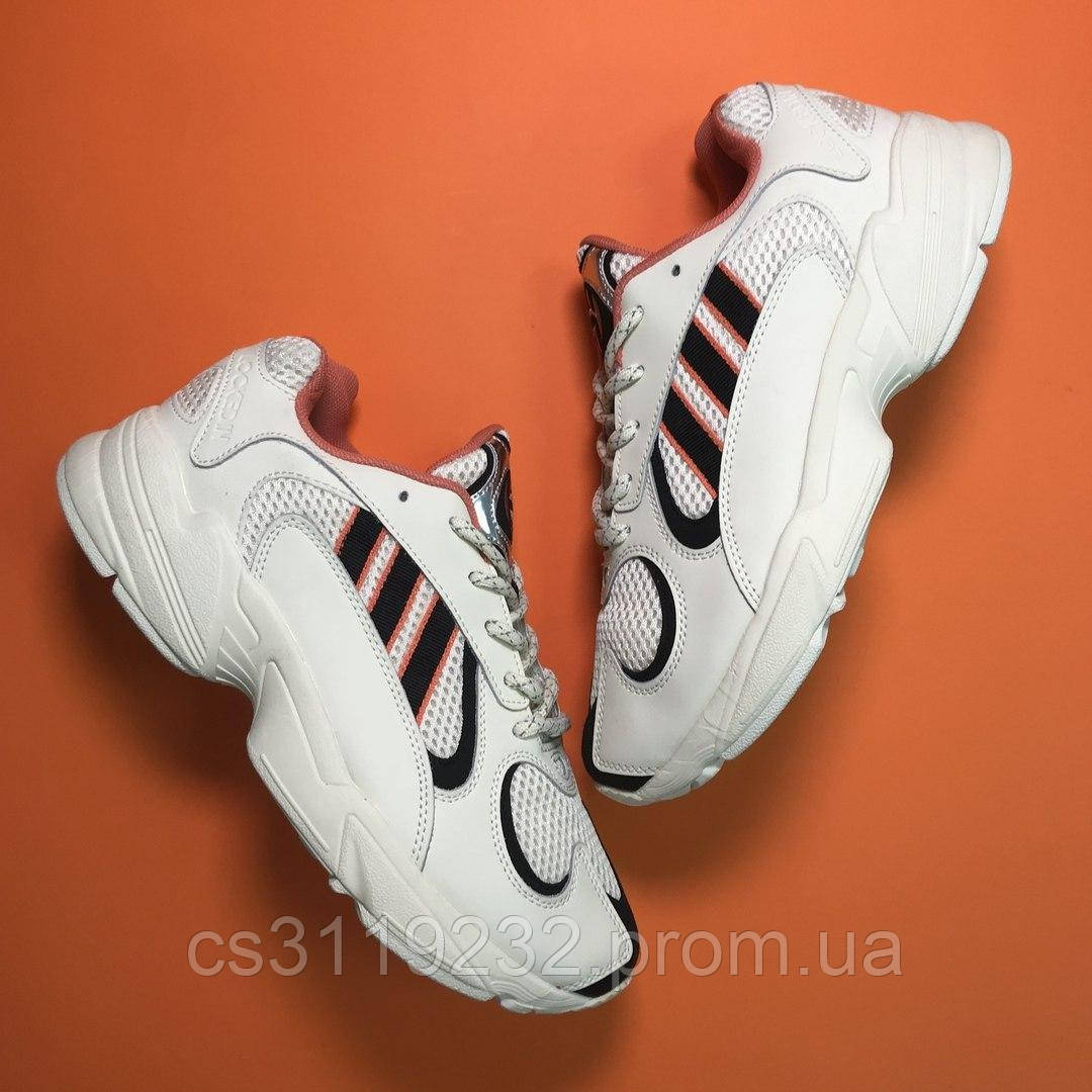 Чоловічі кросівки Adidas Yung 1 Beige Black (білі)