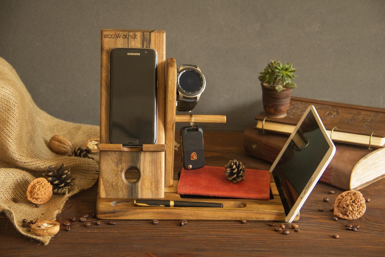 Док станція для телефону годин Samsung, тримач ключів, планшета, ручок