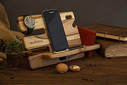 Настольный органайзер для телефона, планшета, кошелька, ключей