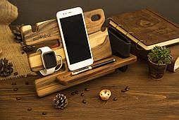Органайзер подставка для телефона, часов iWatch