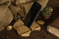 Портативная подставка под телефон, планшет из дерева грецкого ореха
