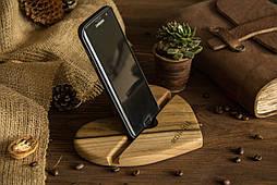 Деревянная подставка органайзер под телефон, планшет
