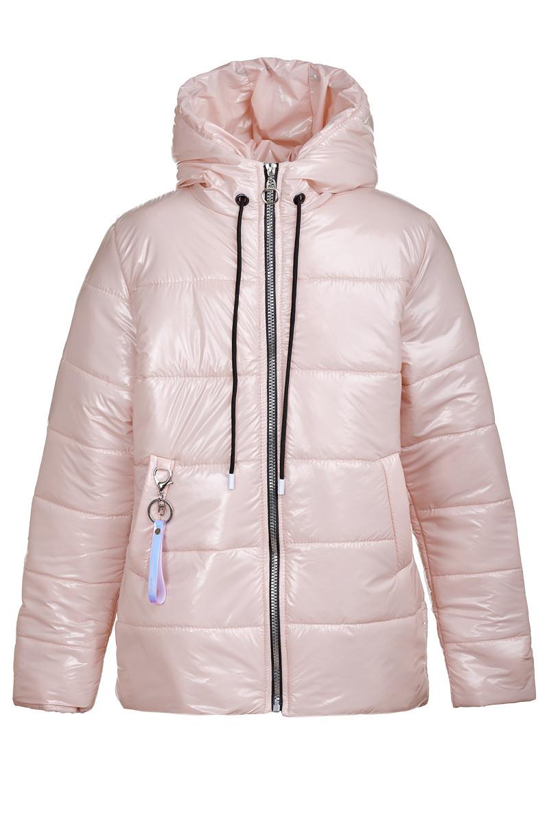 Весення куртка на девочку лаковая от производителя оптом