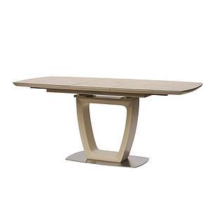 Обеденный стол RAVENNA (Равенна) бежевый 120/160 от Concepto