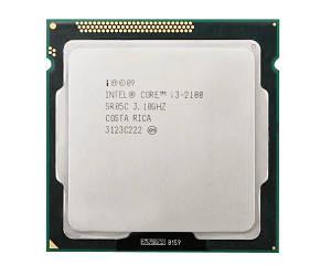 Процессор Intel Core i3-2100 3.1GHz/3MB  s1155  Б/У