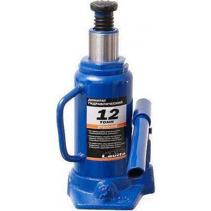 Домкрат гидравлический бутылочного типа 12т. 210-400мм Lavita LA JNS-12, фото 2