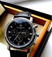Часы мужские  Patek Philippe black (кварцевые)