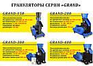 Гранулятор GRAND-200 для пеллет, фото 6